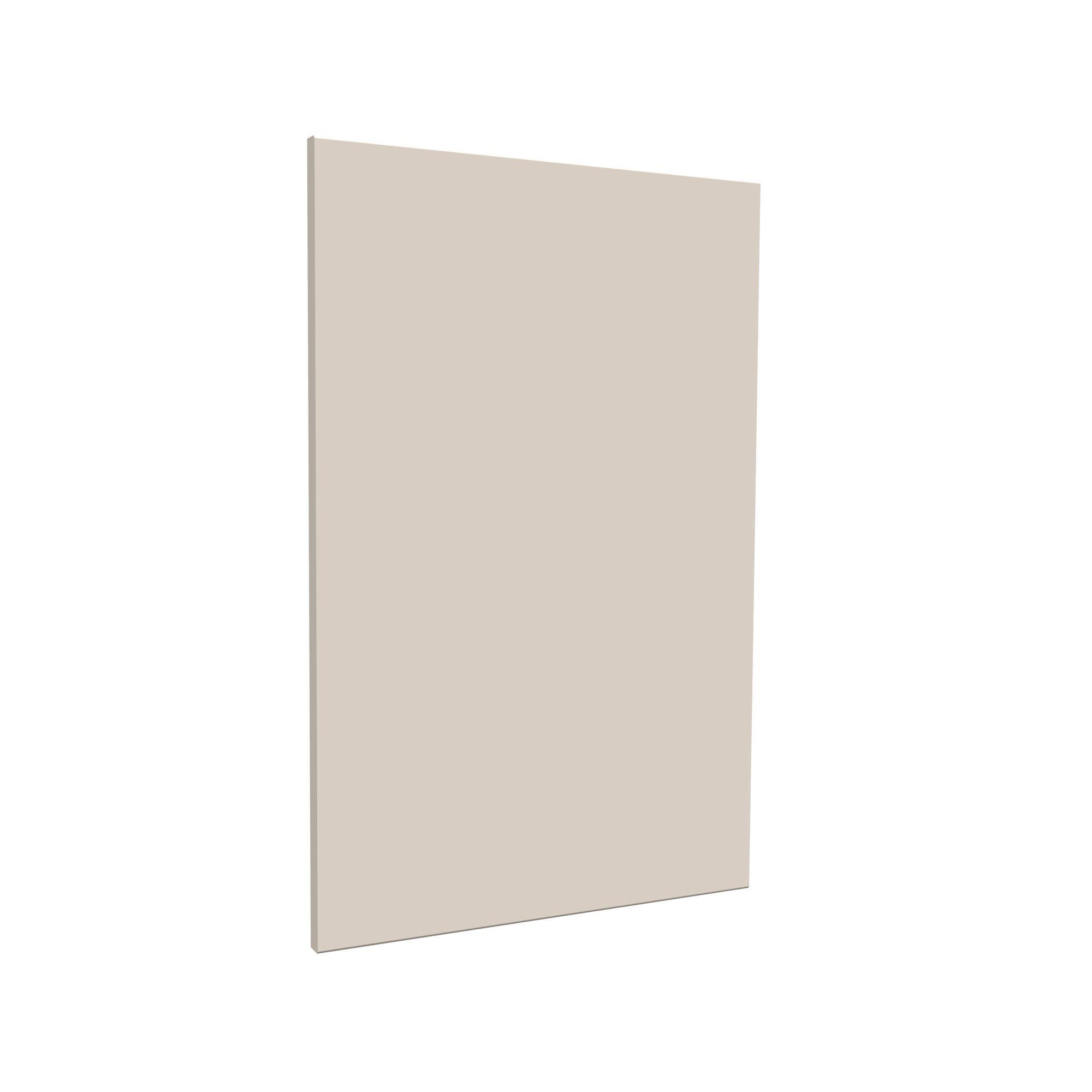Darwin Modular Cream & Gloss Bedside Cabinet Door (h)478mm (w)372mm (d)16mm