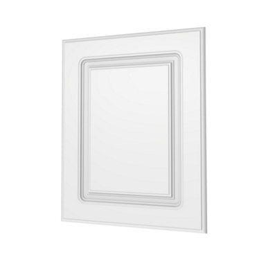 Darwin Modular White & Matt Bedside Cabinet Door (h)478mm (w)372mm (d)16mm