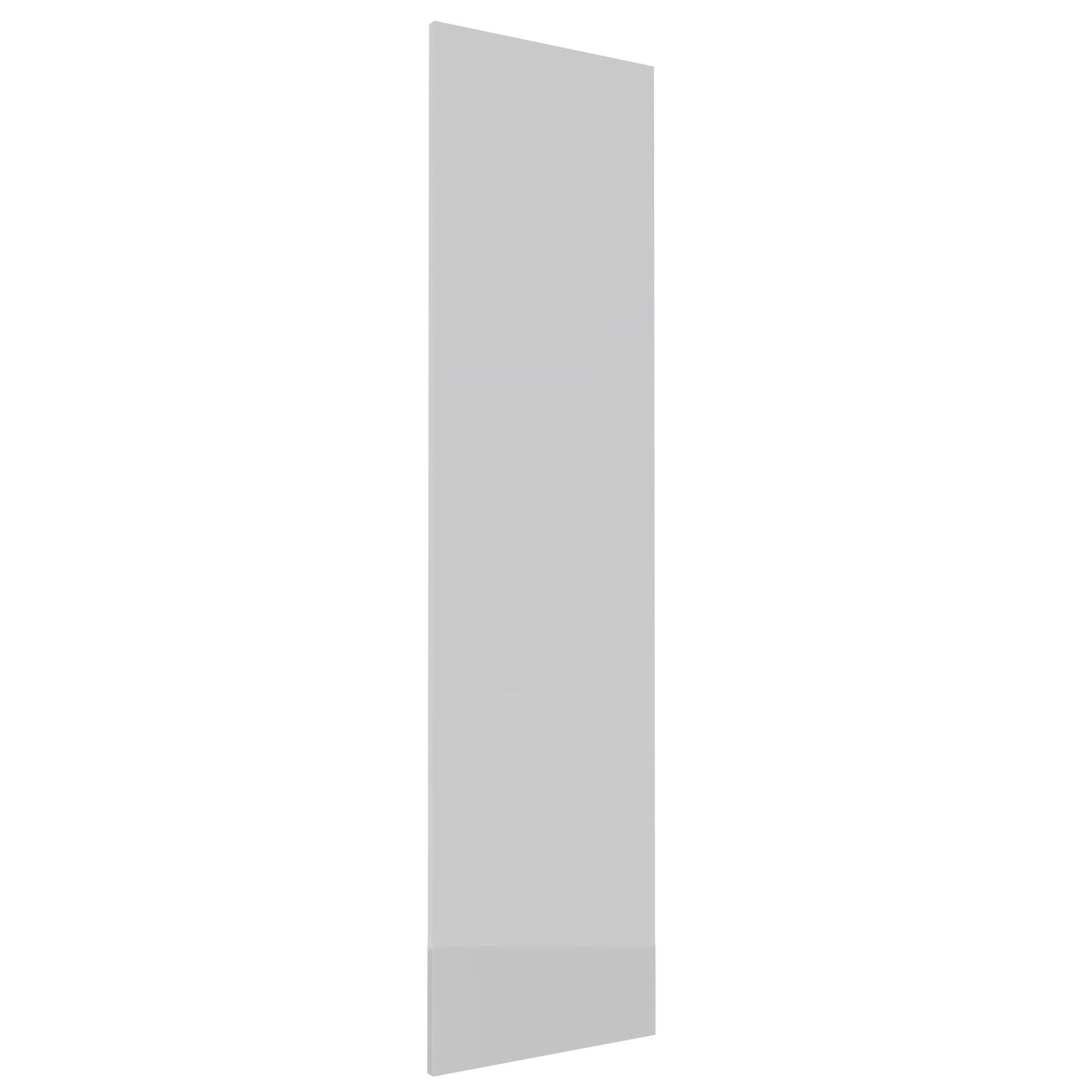 Darwin Modular White & Gloss Wardrobe Door (h)1456mm (w)372mm (d)18mm