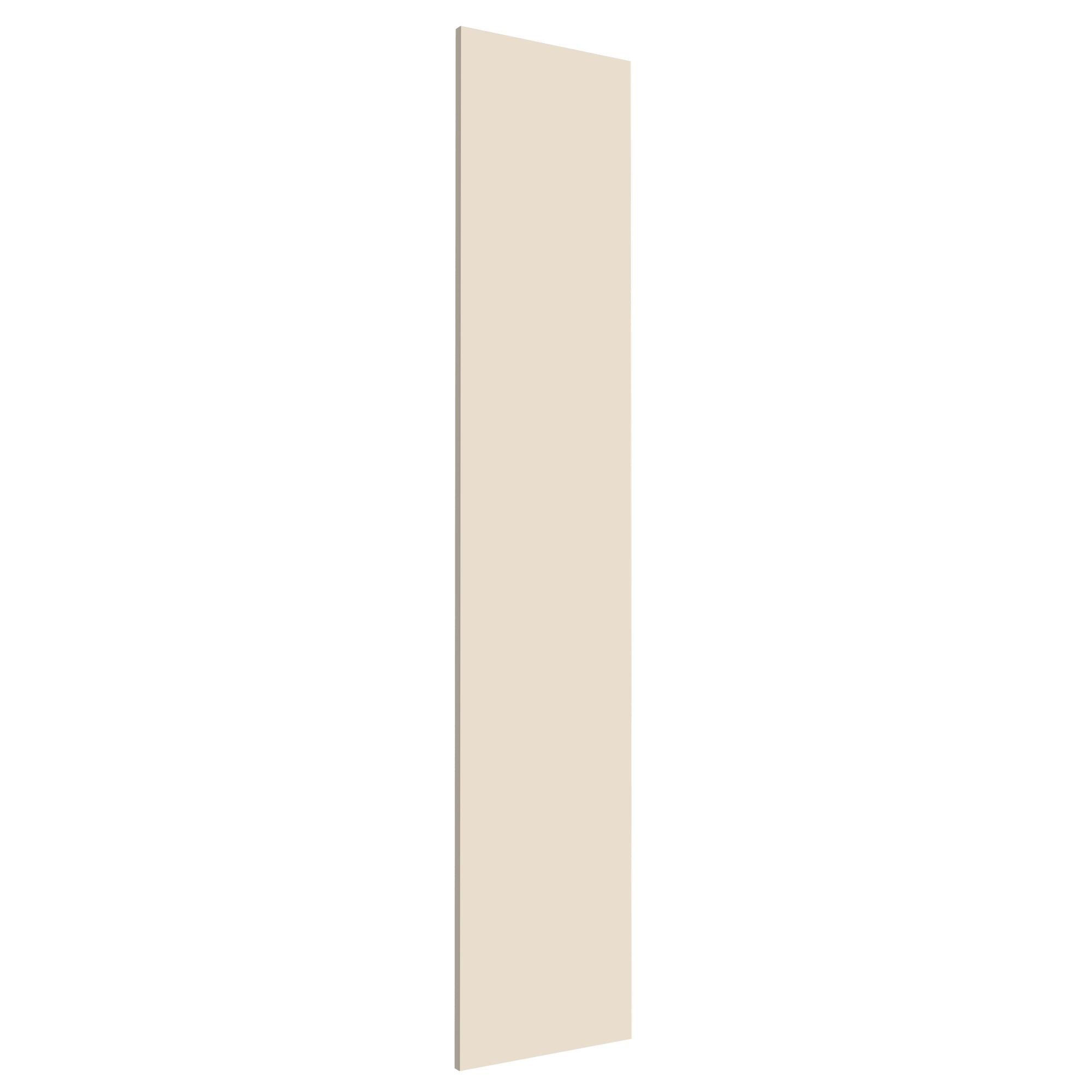 Darwin Modular Cream & Gloss Wardrobe Door (h)1808mm (w)372mm (d)18mm