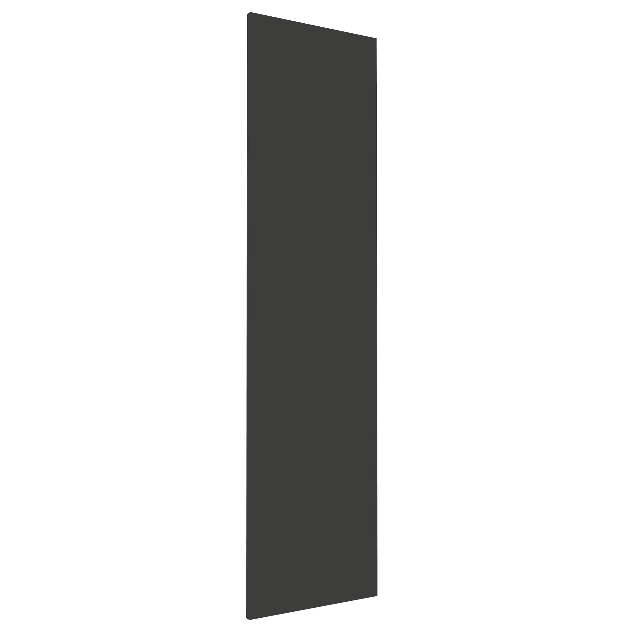 Darwin Modular Anthracite & Gloss Wardrobe Door (h)1456mm (w)372mm (d)18mm