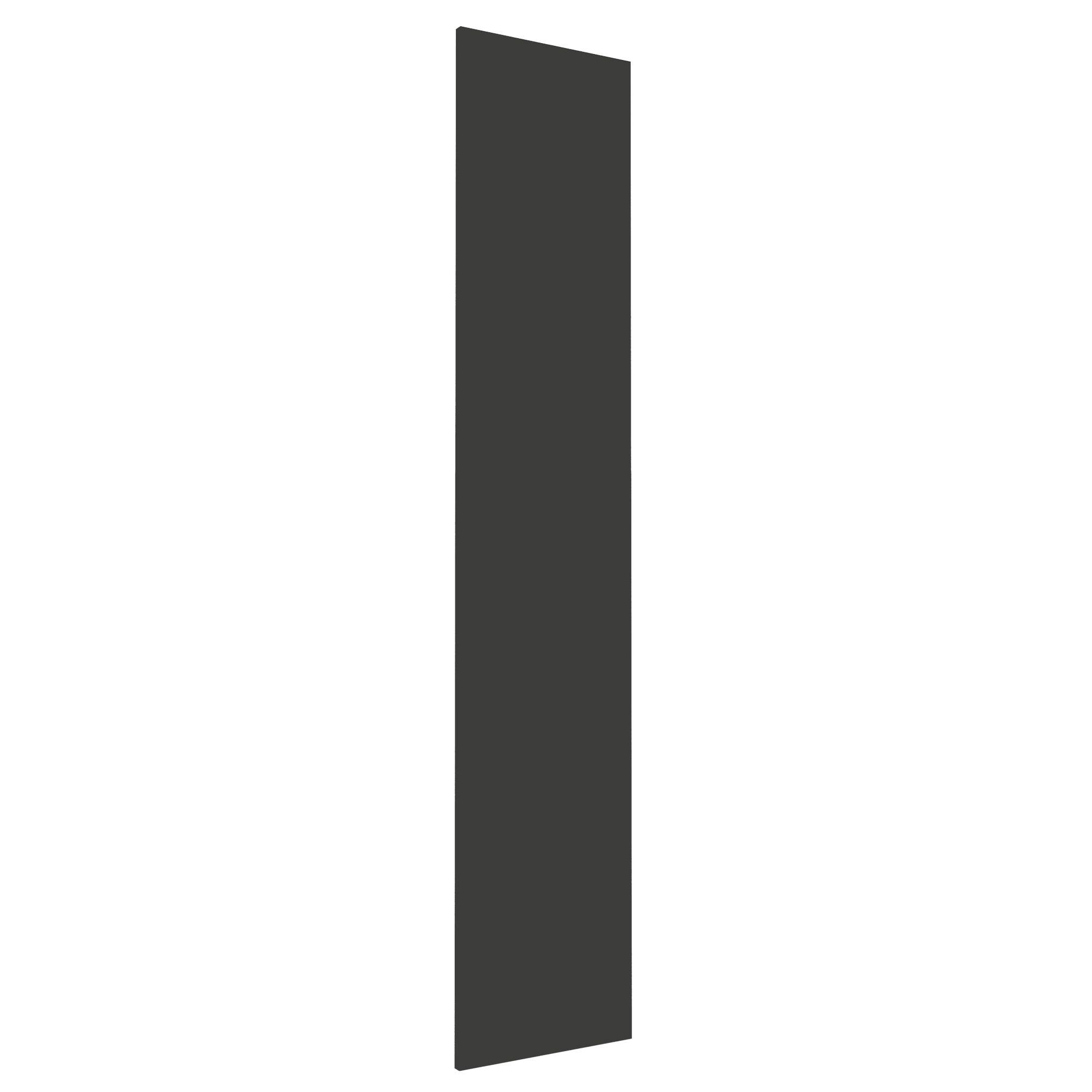 Darwin Modular Anthracite & Gloss Wardrobe Door (h)1808mm (w)372mm (d)18mm