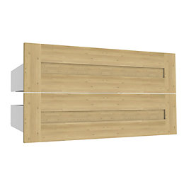 Darwin Modular Oak Effect Midi Shaker Drawer (H)240