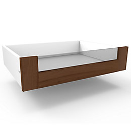 Darwin Modular Walnut Effect Glass Fronted Internal Drawer