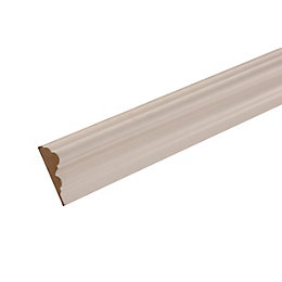 MDF Mouldings Primed Dado Rail (T)18mm (W)58mm (L)2400mm,