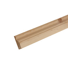 Smooth Ogee Architrave (T)19.5mm (W)69mm (L)2100mm Pack, Pack