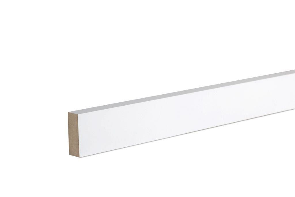 Architrave (T)18mm (W)44mm (L)2100mm, Pack of 5