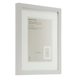 Grey Single Frame MDF Picture Frame (H)44cm x
