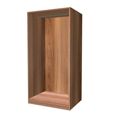Darwin Modular Walnut Effect Large Chest Cabinet (h)1506mm (w)750mm (d)566mm