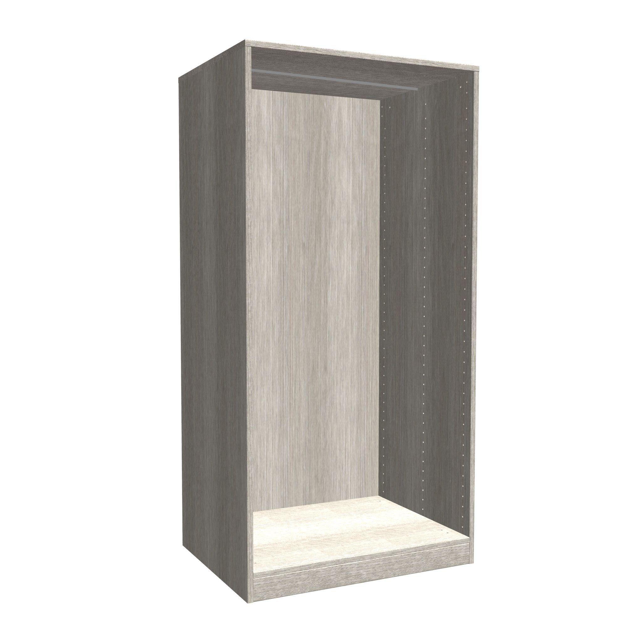 Darwin Modular Grey Oak Effect Large Chest Cabinet (h)1506mm (w)750mm (d)566mm