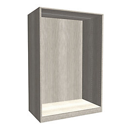 Darwin Modular Grey Oak Effect Large Chest Cabinet