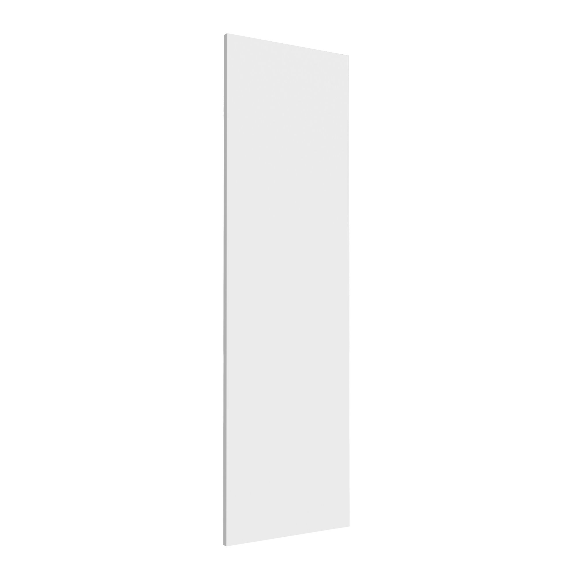 Darwin Modular White & Matt Wardrobe Door (h)1456mm (w)372mm (d)16mm