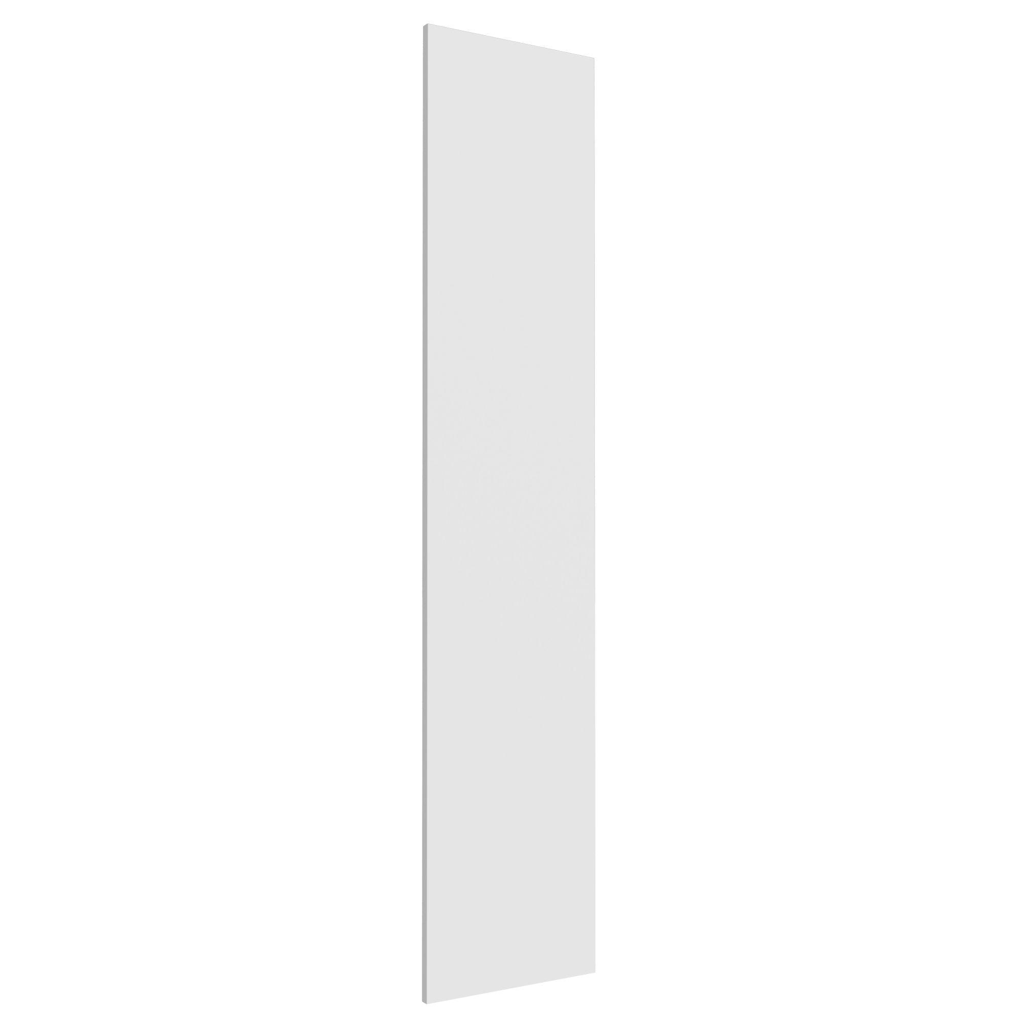 Darwin Modular White & Matt Wardrobe Door (h)1808mm (w)372mm (d)16mm