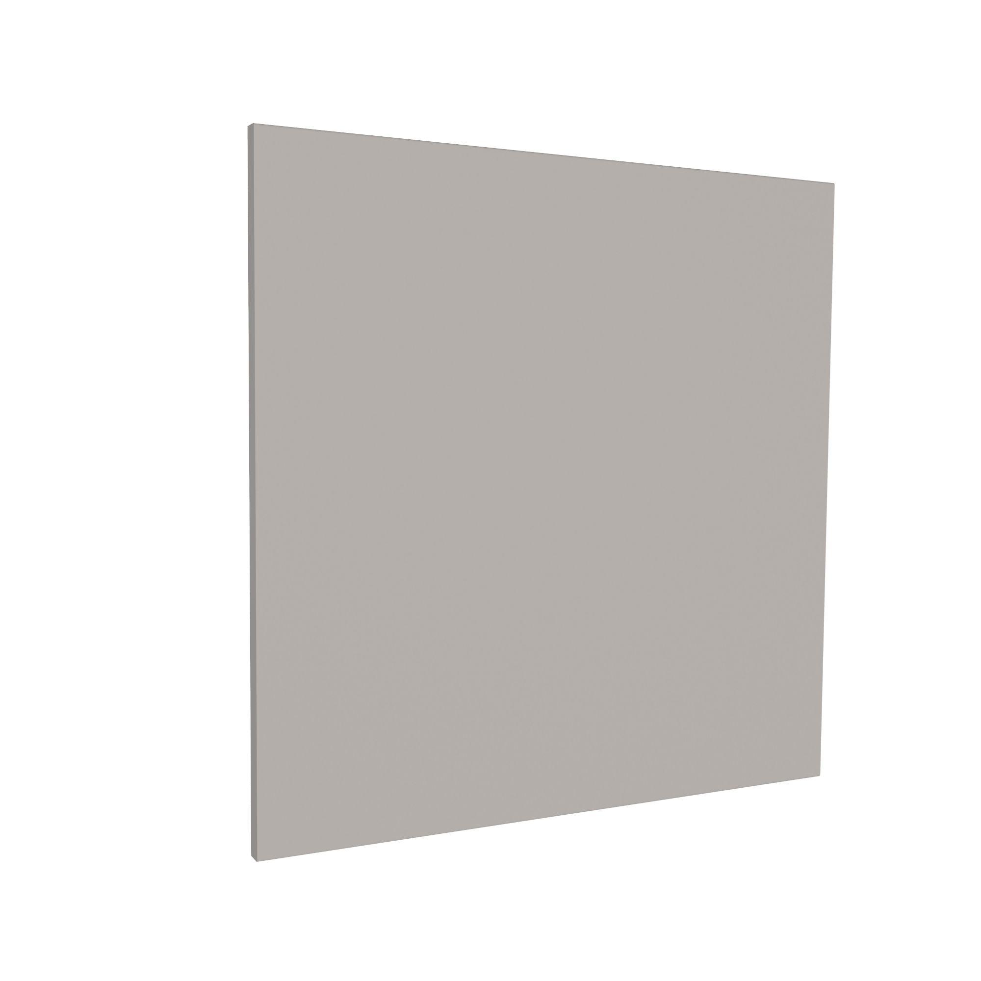 Darwin Modular Grey & Matt Bedside Cabinet Door (h)478mm (w)497mm (d)16mm