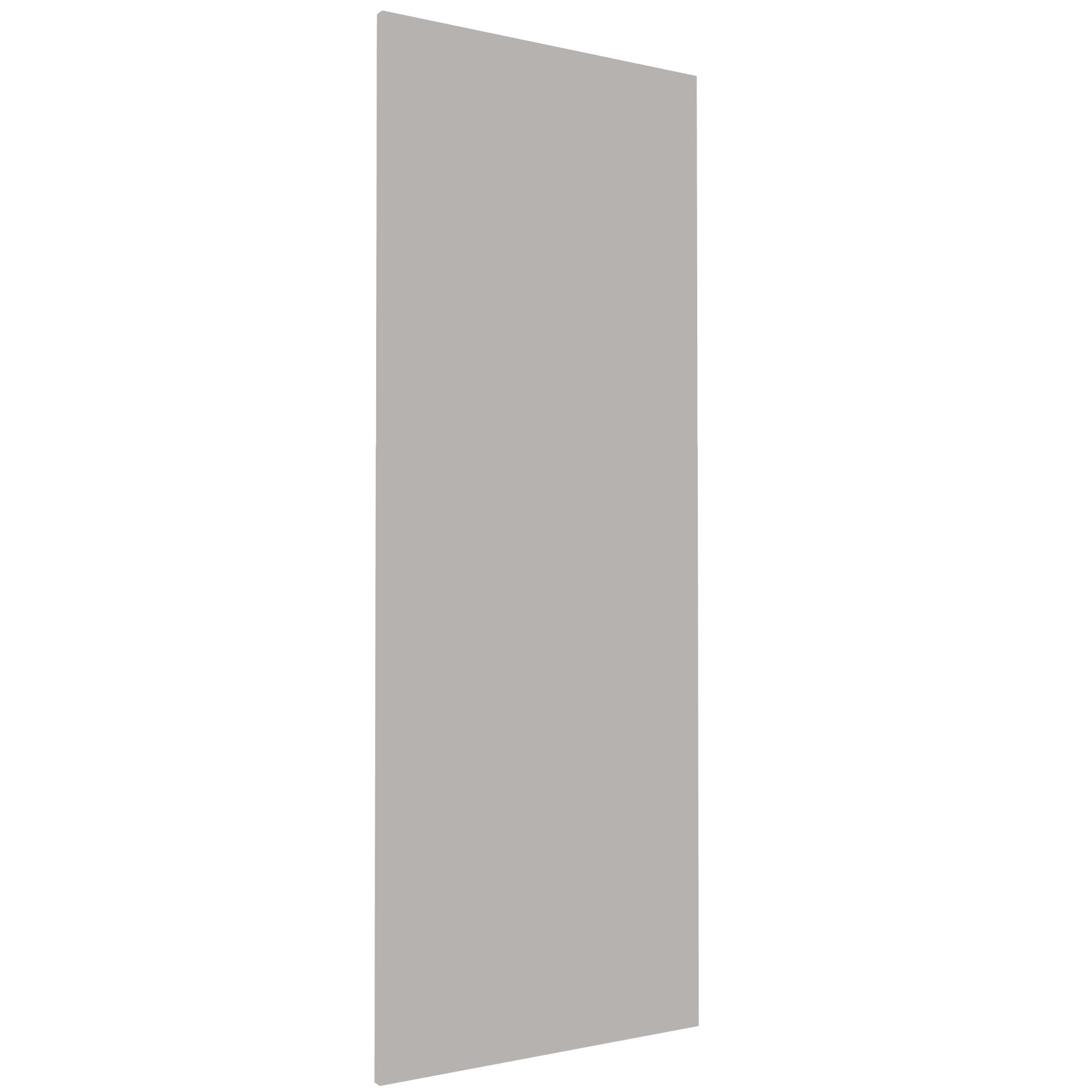 Darwin Modular Grey & Matt Wardrobe Door (h)1456mm (w)497mm (d)16mm