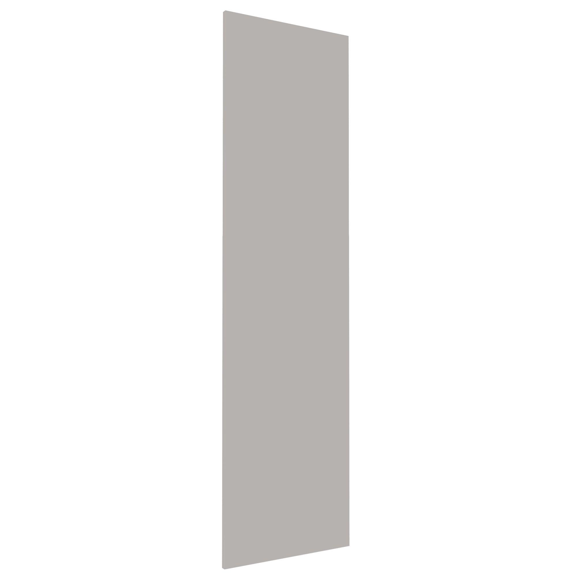 Darwin Modular Grey & Matt Wardrobe Door (h)1808mm (w)497mm (d)16mm