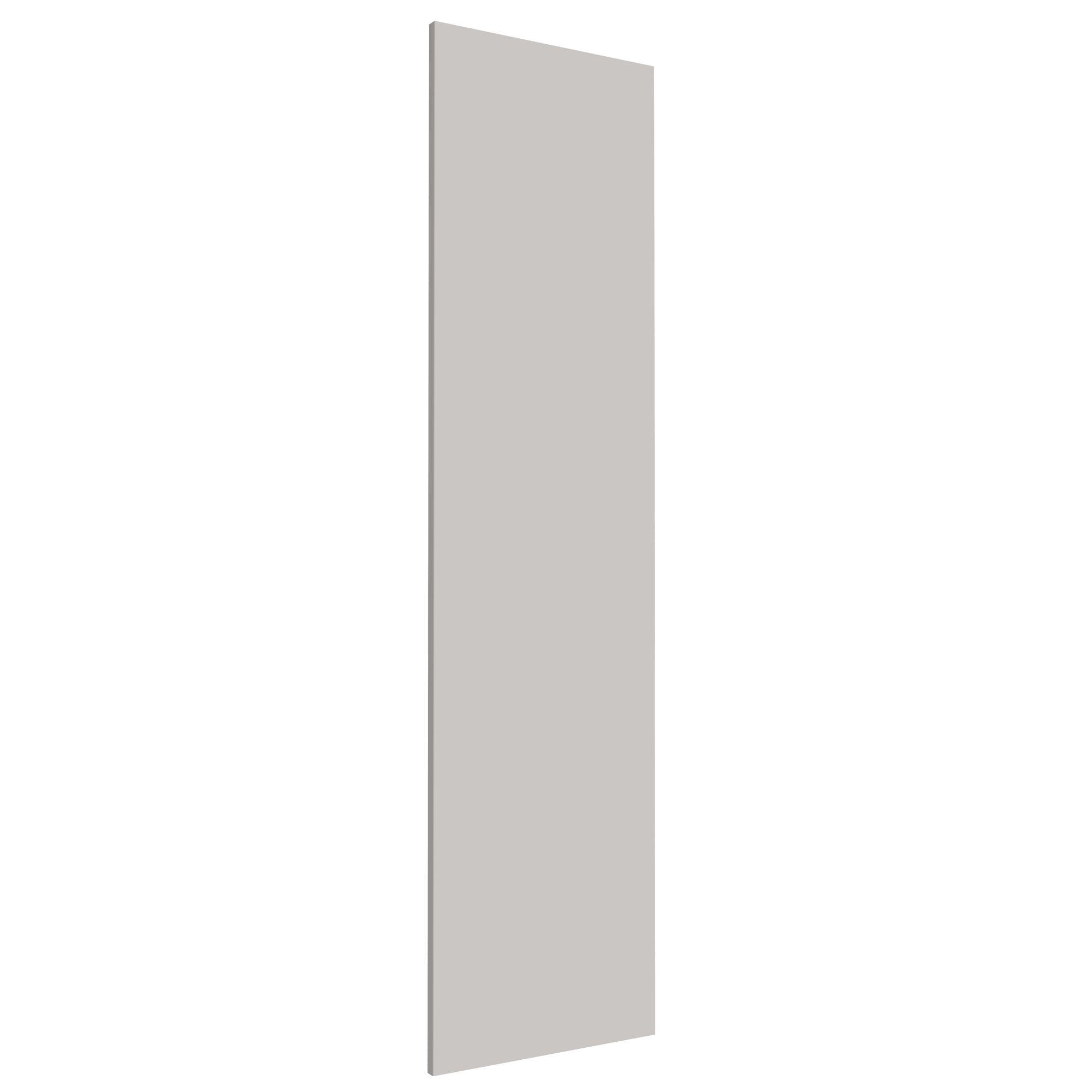 Darwin Modular Grey & Matt Wardrobe Door (h)1456mm (w)372mm (d)16mm