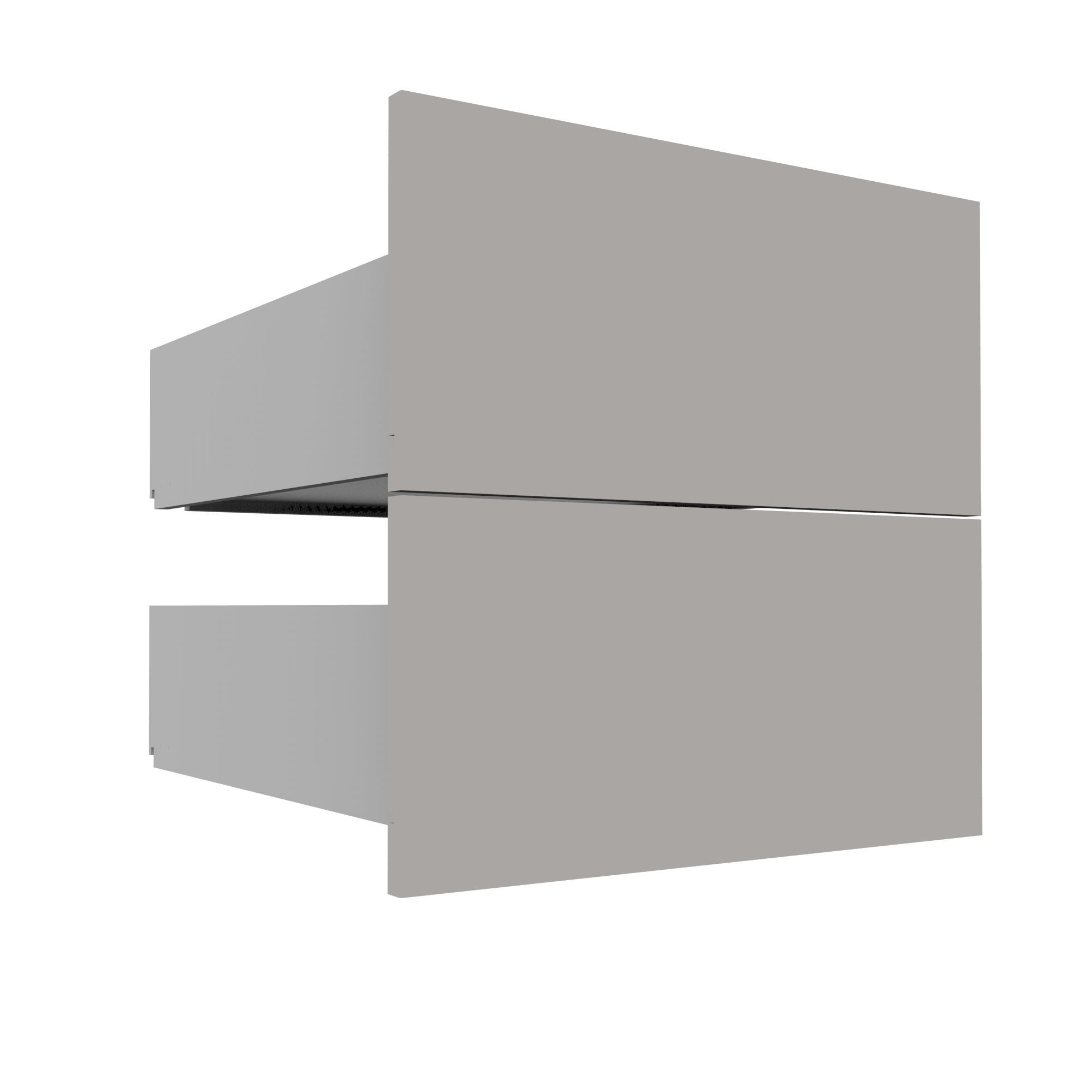 Darwin Modular Grey Drawer (h)237mm (w)500mm