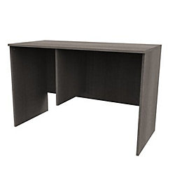 Darwin Modular Grey Oak Effect Desk (H)782mm (W)1200mm