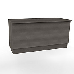 Darwin Modular Grey Oak Effect Blanket Box (H)455mm