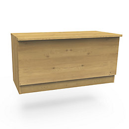Darwin Modular Oak Effect Blanket Box (H)455 mm