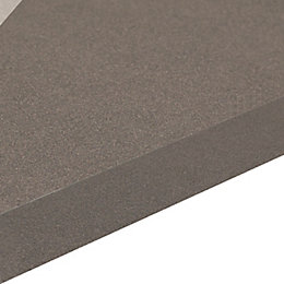 38mm Aura Black Square Edge Kitchen Worktop (L)3.6m