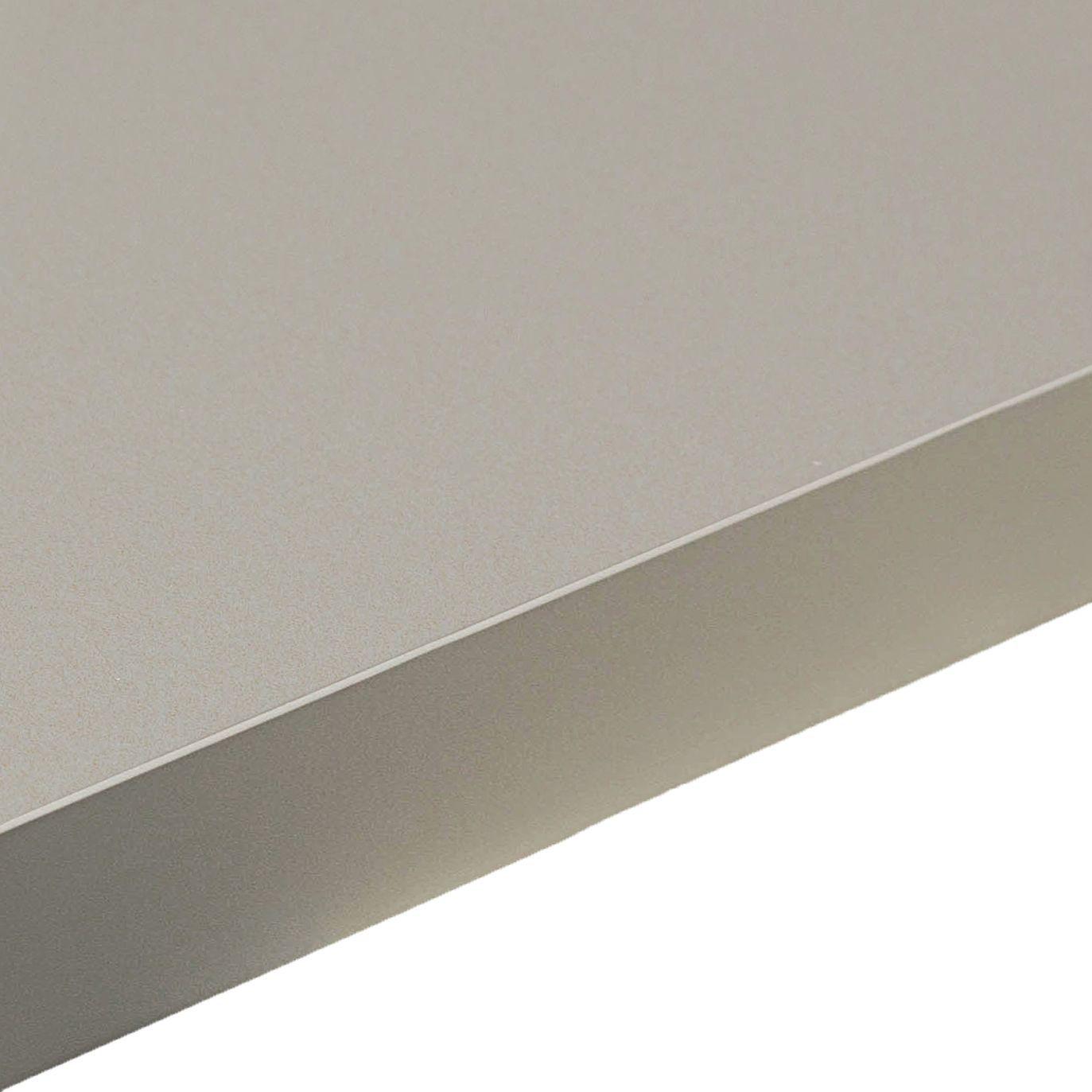 38mm edurus laminate titan grey matt square edge worktop for Zinc laminate