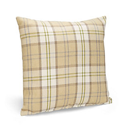 Colbie Tartan Green Cushion