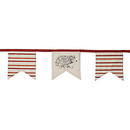 Colours Hedgehog Bunting, (L)3.05m