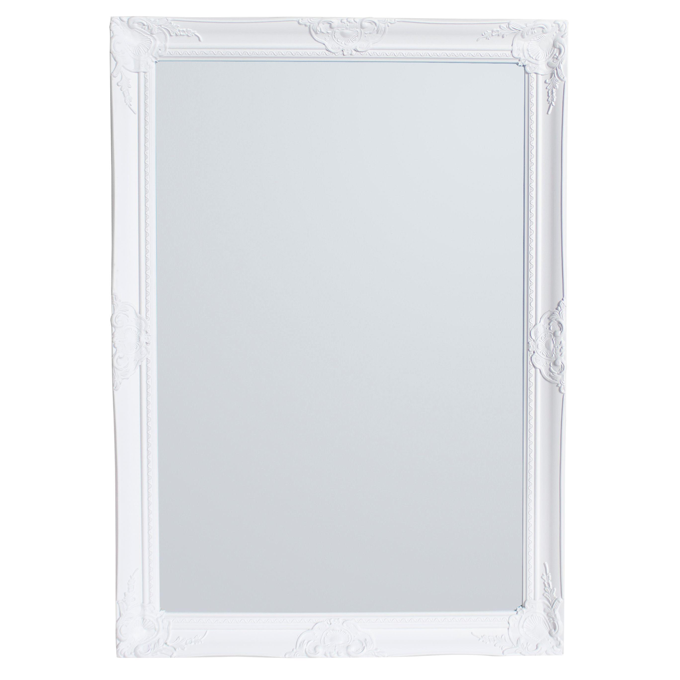Colours Tibertus Painted Framed Rectangular Mirror (h)1030mm (w) 730mm