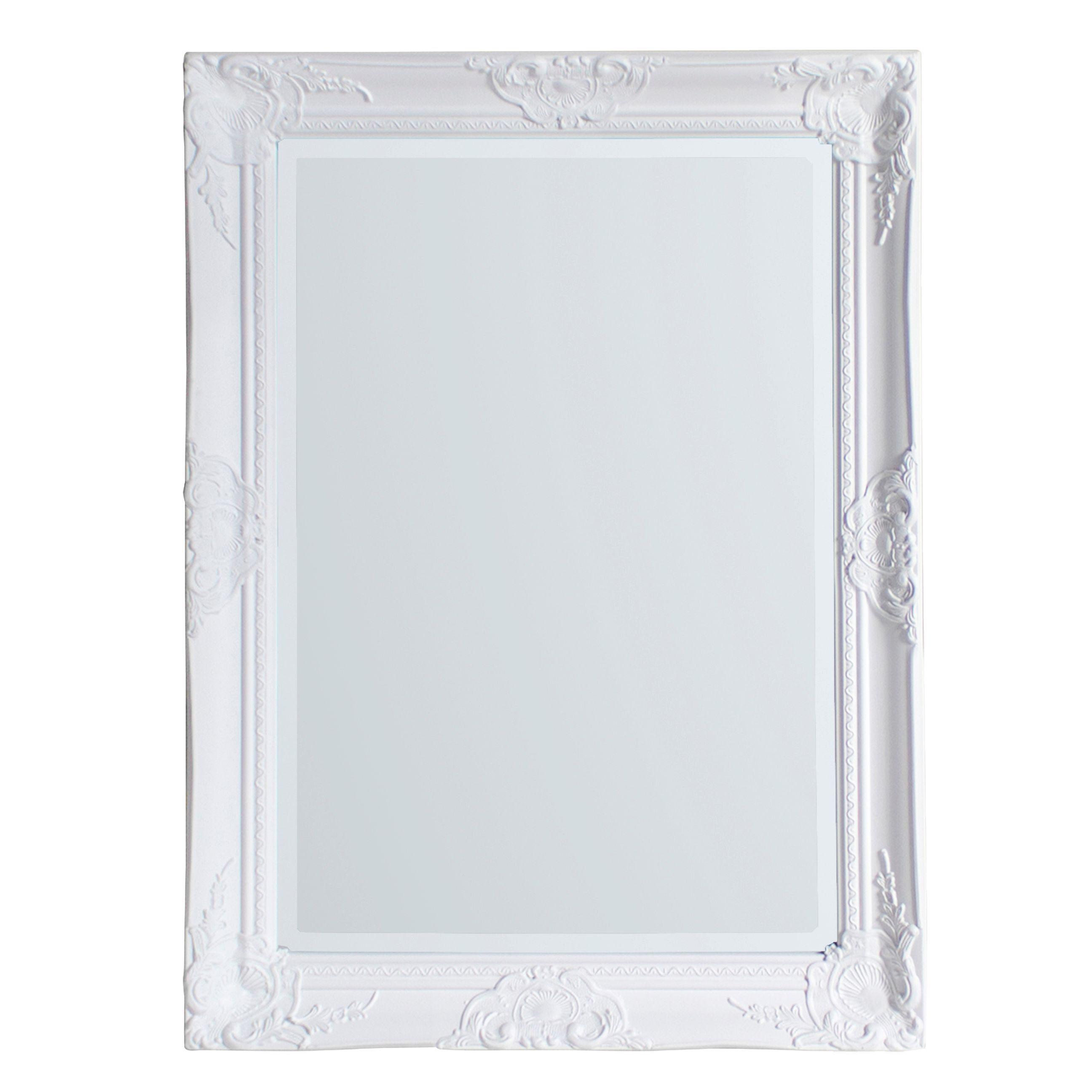 Colours Tibertus Painted Framed Rectangular Mirror (h)780mm (w) 580mm