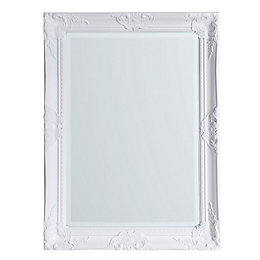 Colours Tibertus Painted Framed Rectangular Mirror (H)780mm (W)