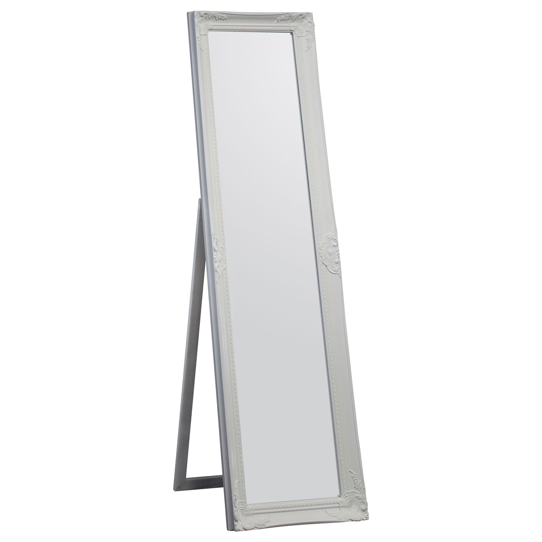 Colours Tibertus Painted Framed Rectangular Mirror (h)1640mm (w) 470mm