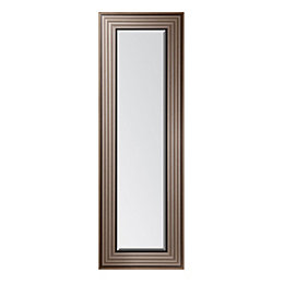 Colours Laverna Foil Wrap Framed Rectangular Mirror (H)1380mm