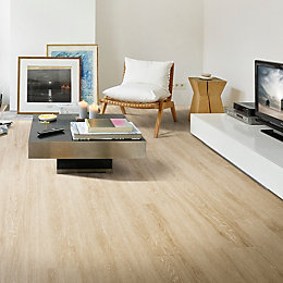 White Oak Effect Premium Luxury Vinyl Click Flooring,2.16m²
