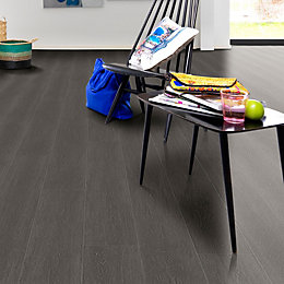Black Oak Effect Premium Luxury Vinyl Click Flooring