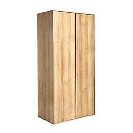 TVilum Pattinson Riviera Oak Wardrobe