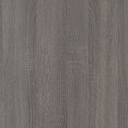 9mm Topia Dark Wood Effect Kitchen Splashback, Square