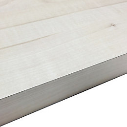 38mm Maple Crème Chipboard Square Edge Kitchen Breakfast