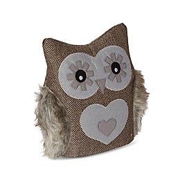 Owl Grey Doorstop