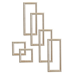 6 Panel Door Moulding Kit, Pack of 6