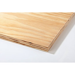 Plywood Sheet (Th)18mm (W)607mm (L)2440mm 1