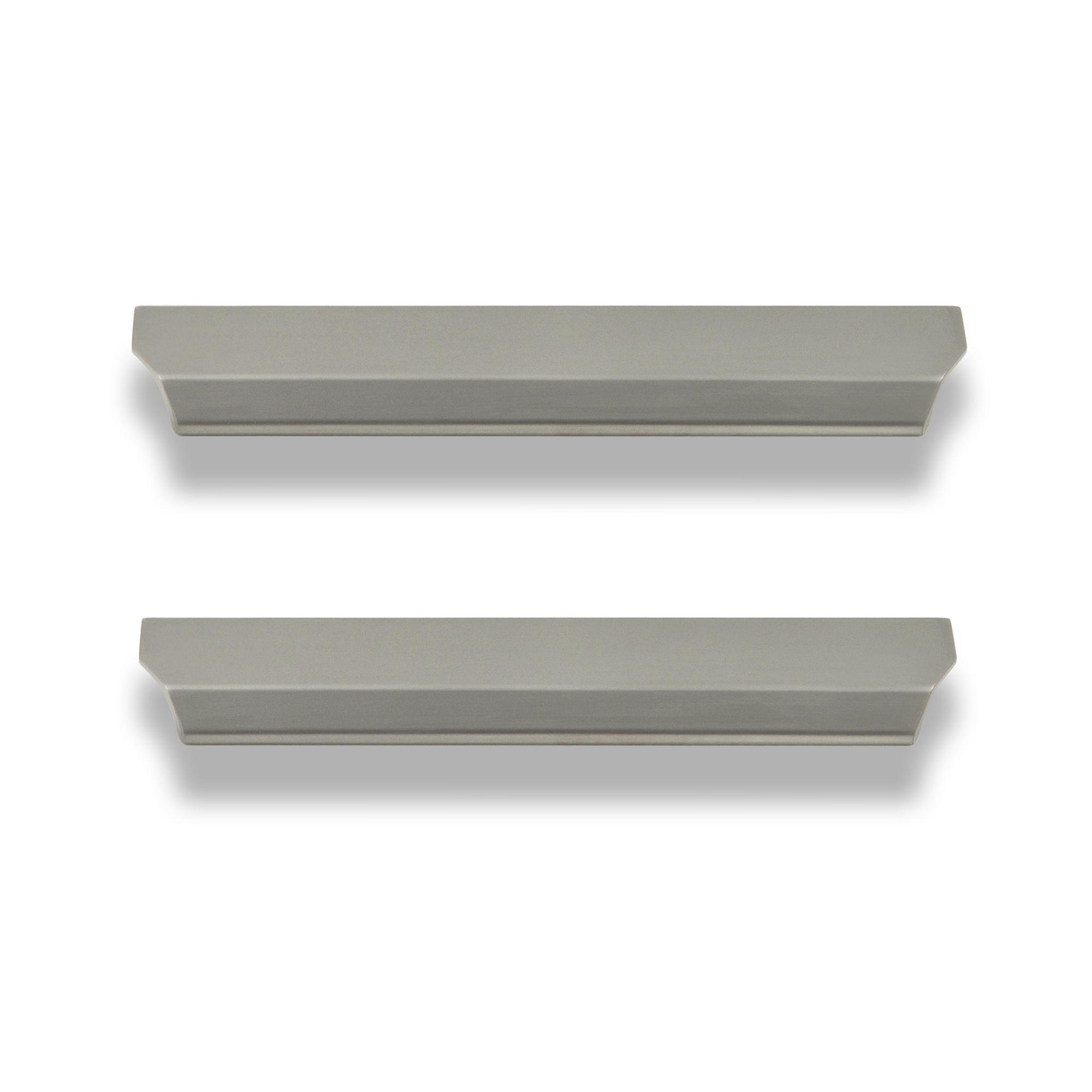 Darwin Stainless Steel Effect Bedroom Handle Cabinet Door Knob