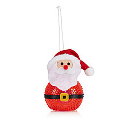 Battery Operated LED Santa Indoor Decoration