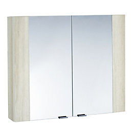 Cooke & Lewis Amazon Double Door White Light
