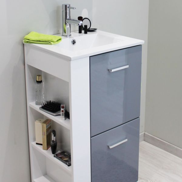 Bathroom cabinets amp furniture bathroom storage diy at b amp q