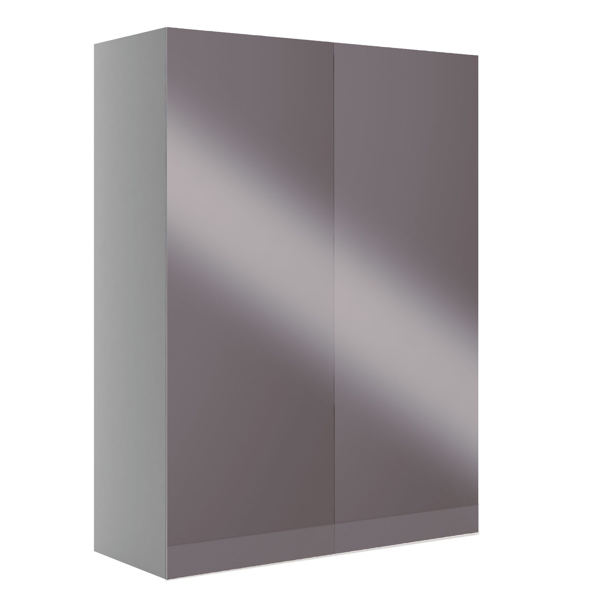 Cooke Lewis Marletti Gloss Anthracite Double Door Wall Cabinet W