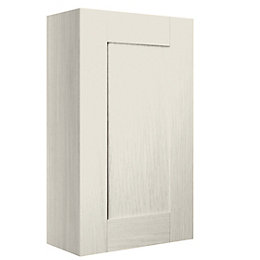 Cooke & Lewis Sorella Mussel Textured Wall Cabinet