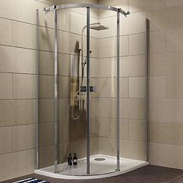 Cooke & Lewis Luxuriant Offset Quadrant Shower Enclosure