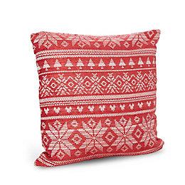 Maren Chenile Red Cushion